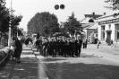 Парад ко дню Победы на улице Ленина